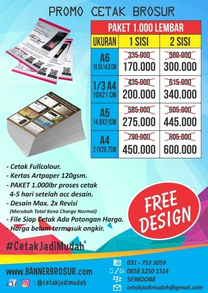 10+ Ide Contoh Pamflet Jual Pulsa Paket Data Internet ...