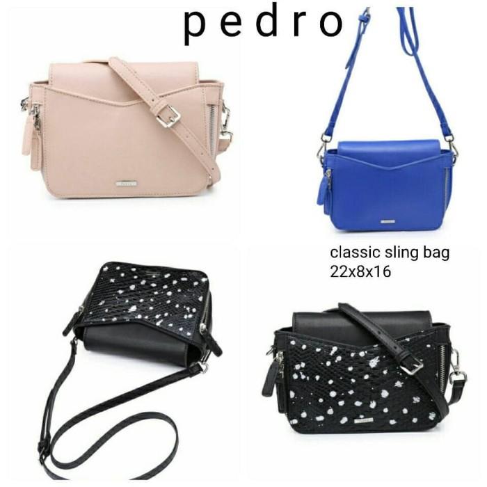 harga Tas pedro classic sling bag uk.22x8x16 Tokopedia.com
