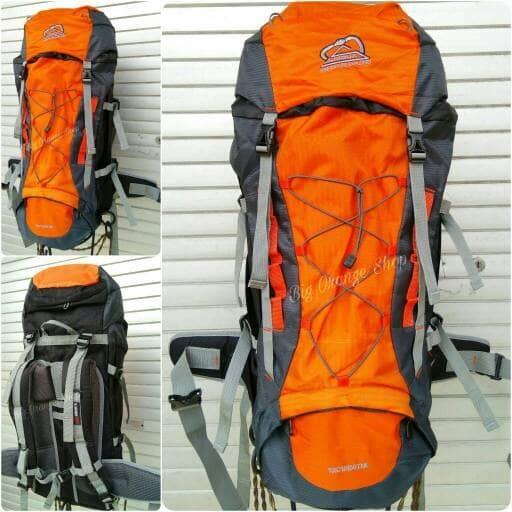 Tas Gunung murah Sioux Ransel Carrier Shioux 50l Orange New Design