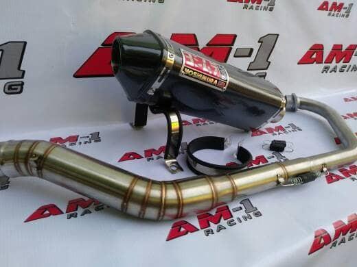 Foto Produk Knalpot Yoshimura USA Carbon All New CB150R/CB 150R Streetfire Old dari AM1 Racing
