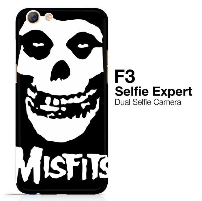 harga Horror punk rock band misfits skull z0506 oppo f3 3d full print case Tokopedia.com