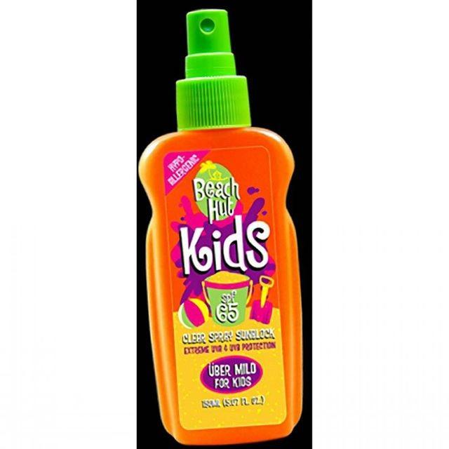 Beach hut kids spray / sunblock anak