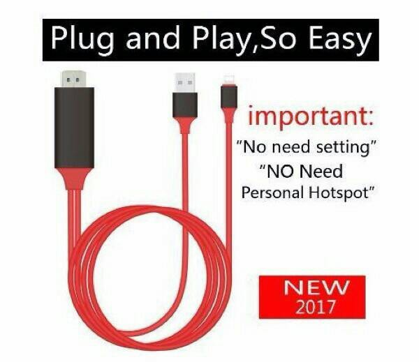 harga Lightning to hdmi digital tv av lcd converter kabel iphone 5 5s 6 7 7+ Tokopedia.com