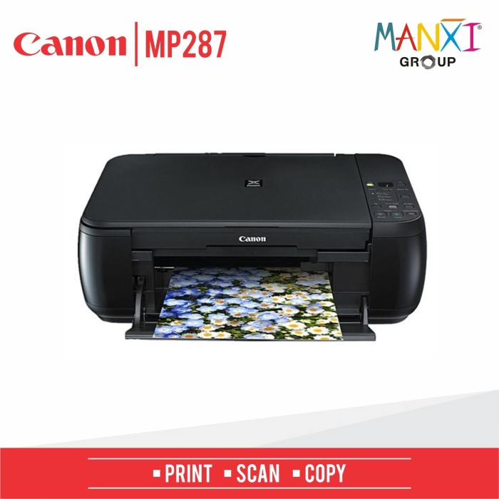 harga Printer ink jet canon pixma mp287 murah multifungsi Tokopedia.com