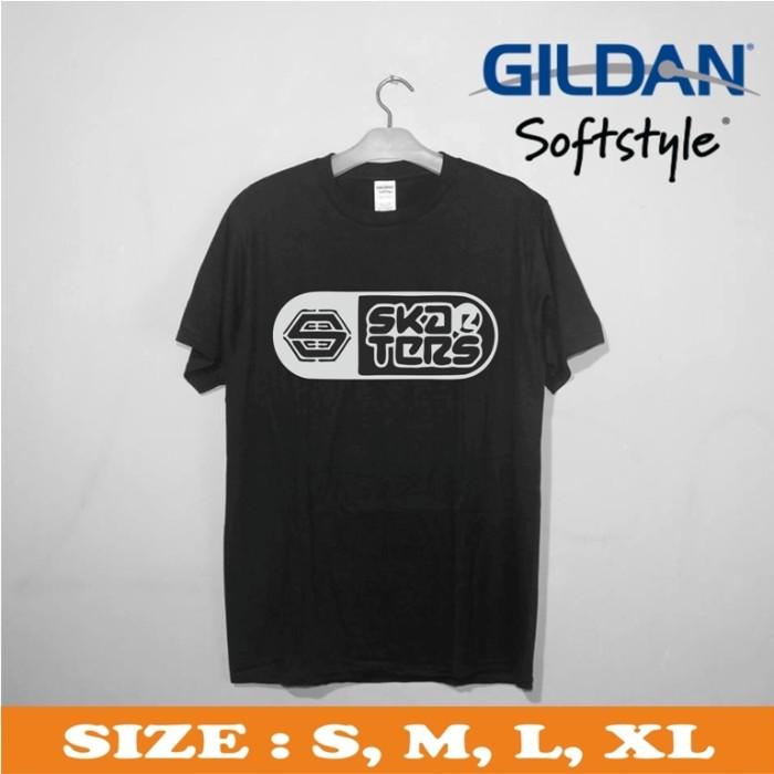 harga kaos gildan premium - baju kaos distro - kaos branded skaters logo 1 Tokopedia.com