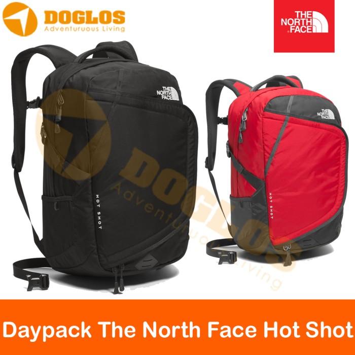 harga Daypack the north face hot shot tas tnf travel outdoor work ransel Tokopedia.com