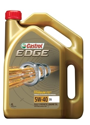 Castrol car engine oil - edge 5w40 sn/cf (4 liter)