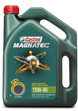 Castrol car engine oil - magnatec 10w40 sn/cf (4 liter)