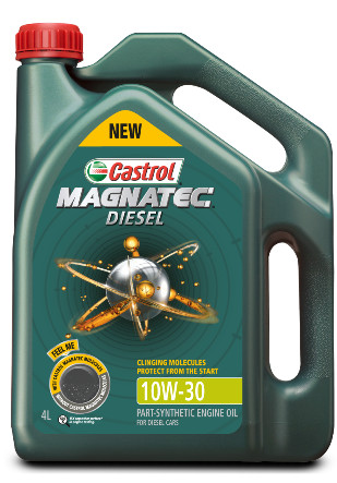 Castrol car engine oil - magnatec 10w30 diesel (4 liter)