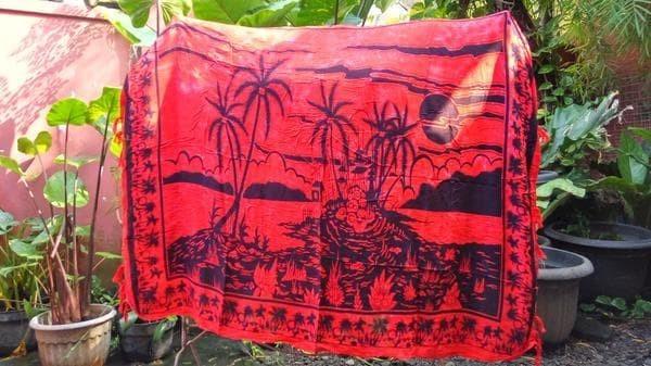 harga Kain pantai khas bali tema motif pantai Tokopedia.com