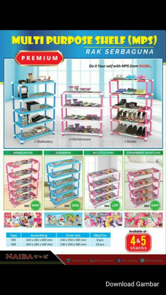 Jual Rak Sepatu Naiba 4 Susun Jakarta Barat Rich Shop14