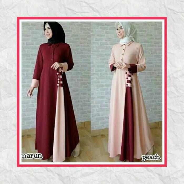 harga Baju wanita / long dress / baju muslim wanita/ maxi dress / afida dres Tokopedia.com