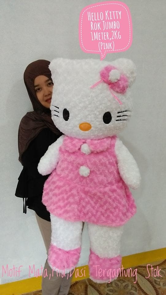 Foto Produk Boneka Hello Kitty rok jumbo dari NN BONEKAKU