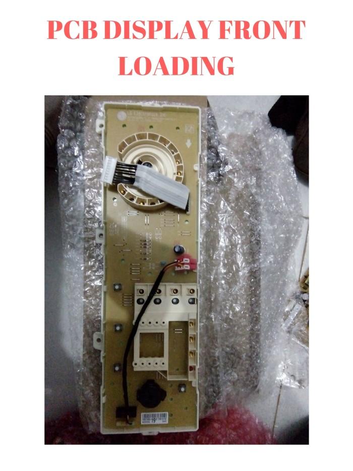 harga Pcb display modul depan mesin cuci front loading lg wd m 8070td Tokopedia.com