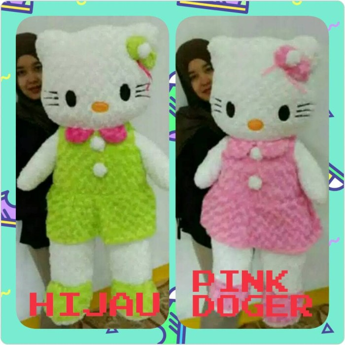 Boneka Hello Kitty Jumbo 11 Meter - Wikie Cloud Design Ideas c105f67526