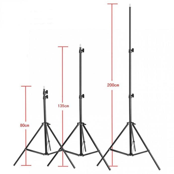 harga Light stand tripod 200cm portable studio lightning Tokopedia.com