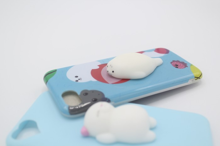 harga Ready!!! squishy case / 9gag case anjing laut biru Tokopedia.com