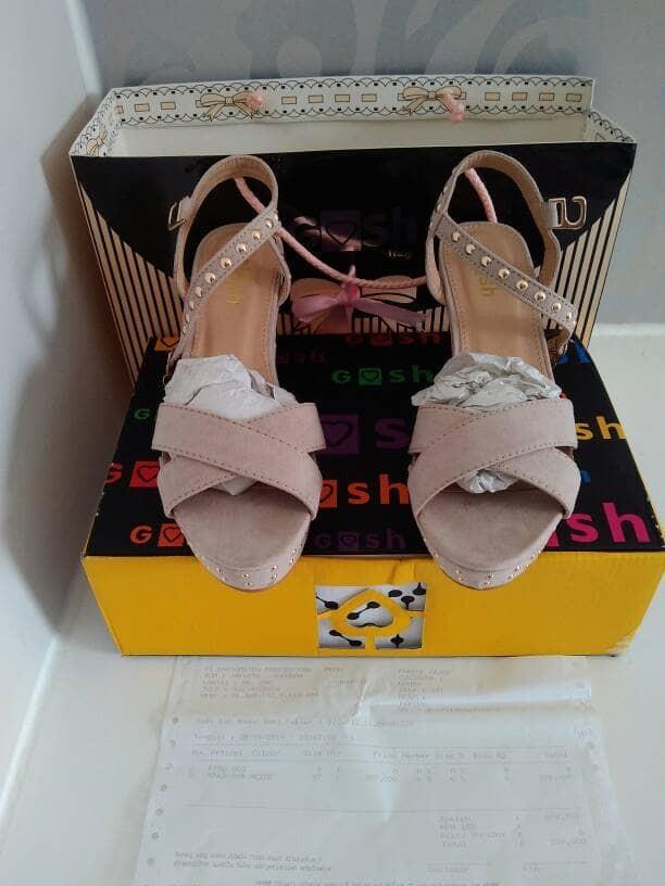 Jual sepatu gosh original   heel gosh  wedges gosh   sepatu wanita ... 510846cdfa