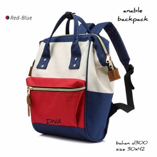 harga Tas wanita ransel backpack biru navy merah tas sekolah sd smp sma  Tokopedia.com 823948d4ff