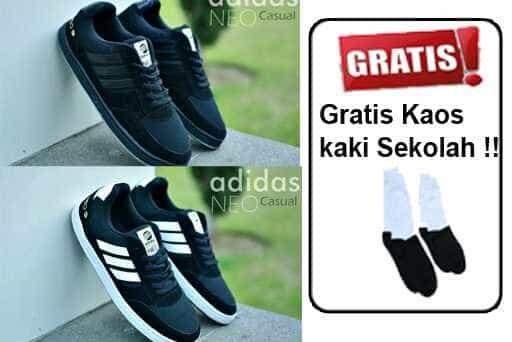 ... harga Sepatu sekolah pria wanita anak adidas neo classic spesi  Tokopedia.com d6ef201f98