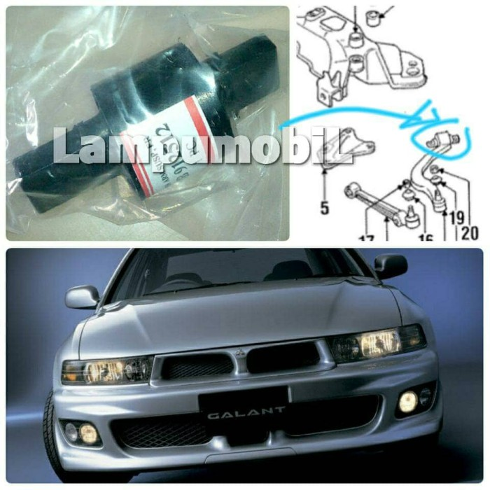 harga Front bushing lower arm clurit mitsubishi galant hiu 1998-2004 Tokopedia.com