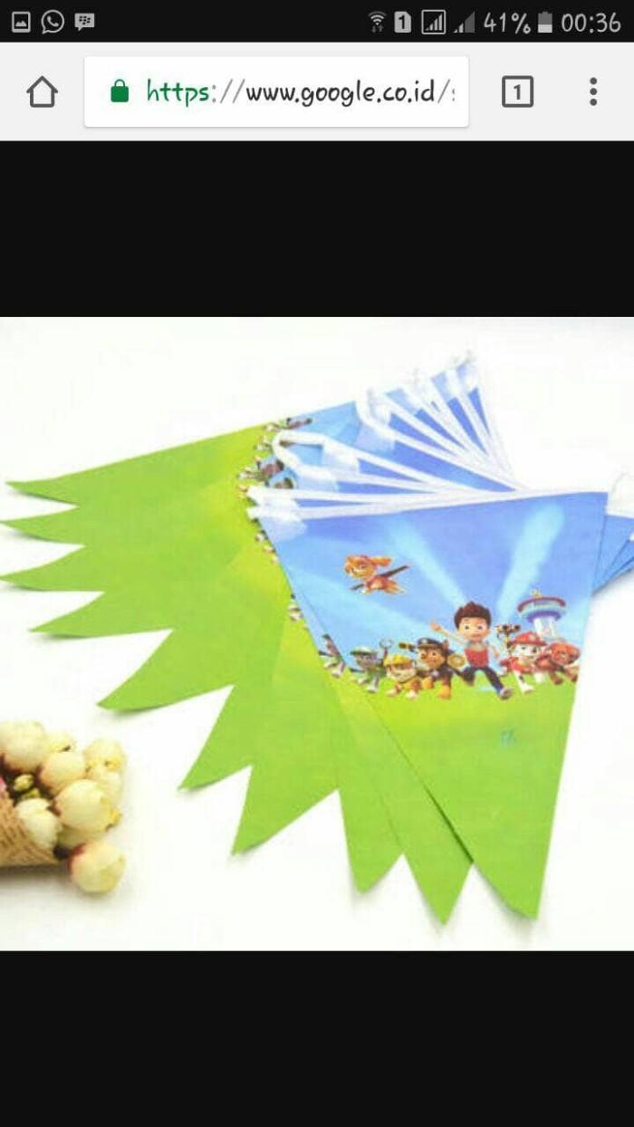 Jual BANER FLAG SEGITIGA BUNTING FLAG MURAH Kota Bogor Ballonkoe