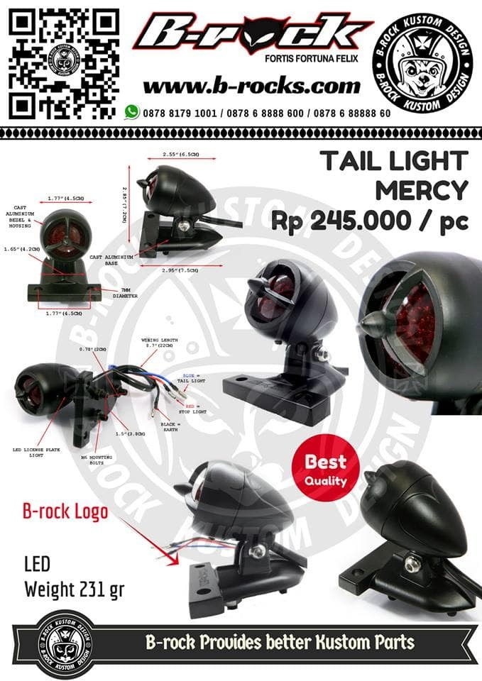harga Stoplamp custom japstyle mercy black Tokopedia.com
