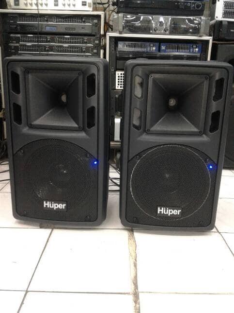 harga Speaker aktif huper ha 300 10 inch gransi resmi original Tokopedia.com