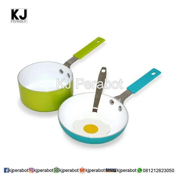 Panci wajan set oxone isi 3 buah ox81 (cookware set)