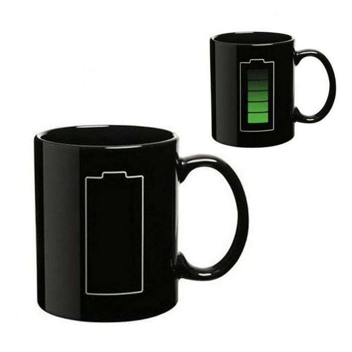 harga Gelas mug bunglon motif baterai 400ml / cangkir bunglon magic baterai Tokopedia.com