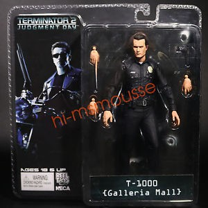 NECA The Terminator 2 T-1000 Galleria Mall PVC Action Figure Model Toy