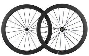 Carbon Fiber Wheels >> Jual 700c 50mm Clincher Carbon Fiber Wheels Front Rear Wheelset Road Bicycl Dki Jakarta Indoknivezia Tokopedia