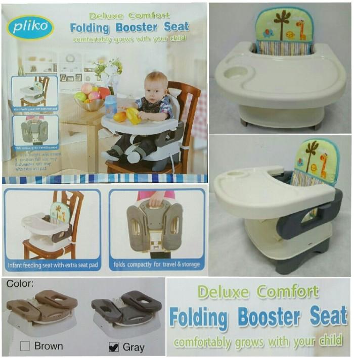 harga Pliko folding booster baby seat deluxe comfort kursi makan bayi Tokopedia.com