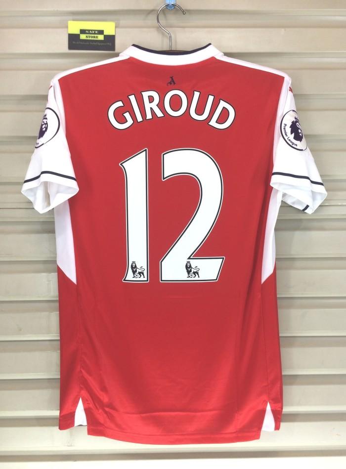 harga Arsenal 2016-17 home. giroud. premier league. original jersey Tokopedia.com