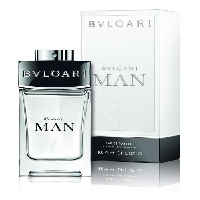 Parfum pria edt bvlgari man white 100ml bulgari cowo murah super