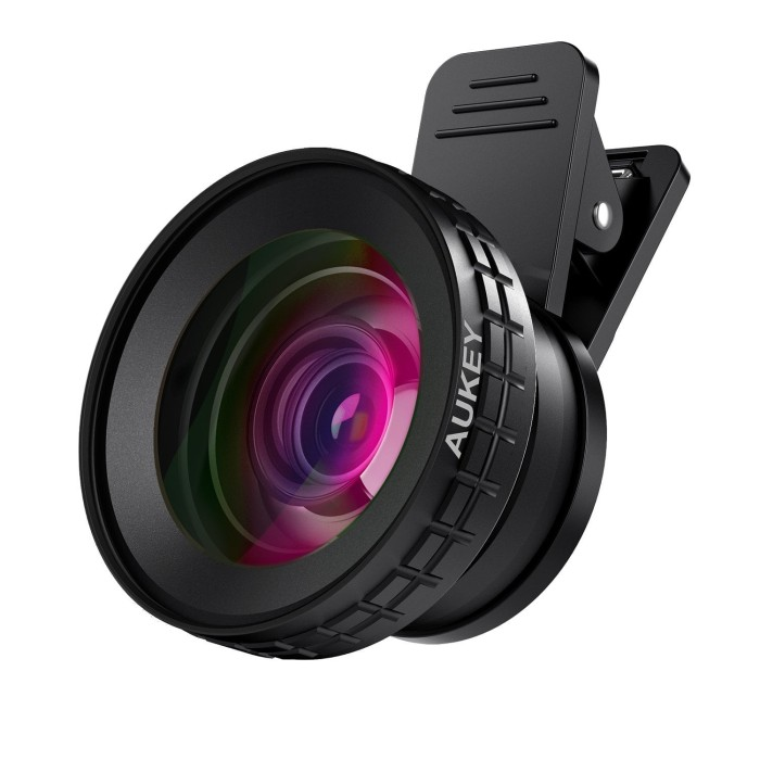 harga Aukey pl-wd07 ora iphone lens 0.45x 140 wide angle 10x macro clip-on Tokopedia.com