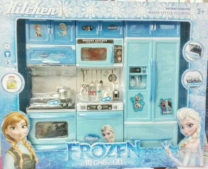 Jual Mainan Masak Anak Dapur Besar Mainan Kado Anak Murah Jakarta Pusat Elunabeauty Tokopedia