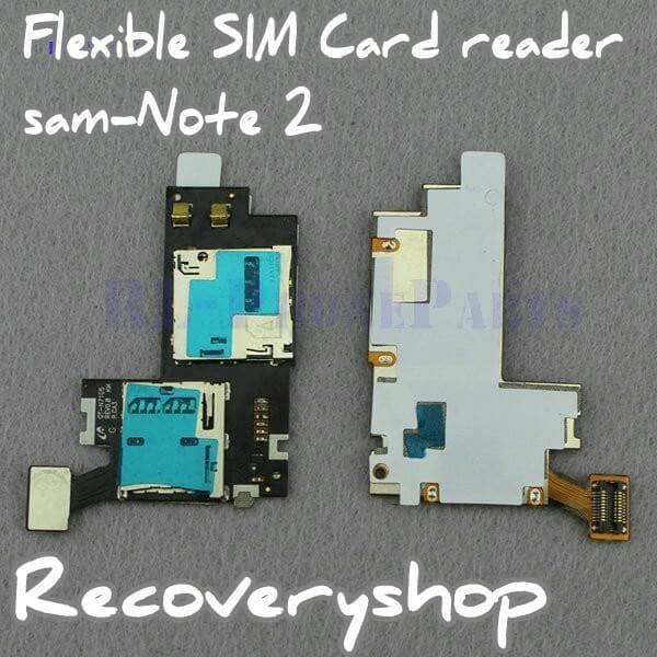 Flexible Sim Card + memory samsun Galaxy Note 2 Note2 N7105