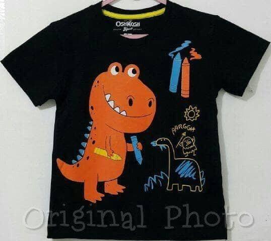 harga Baju kaos anak laki-laki dinosaurus 1-6 Tokopedia.com