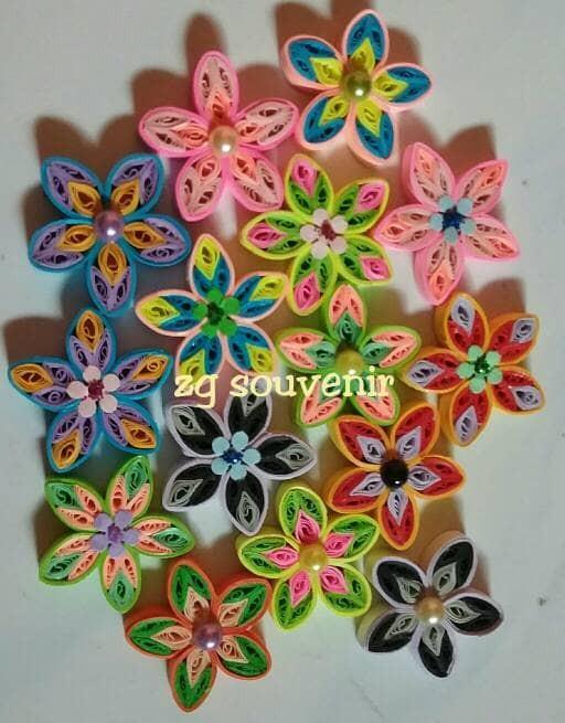 harga Paper quilling flower Tokopedia.com
