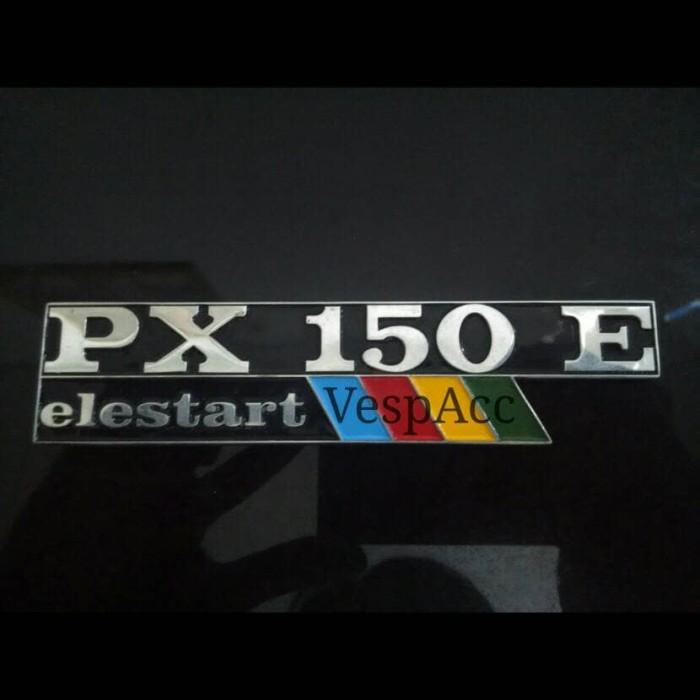 harga Emblem / badges tepong vespa px150e (elestart) Tokopedia.com