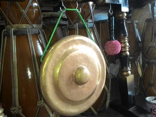 harga Gong besi diameter 45 cm plus pemukul Tokopedia.com
