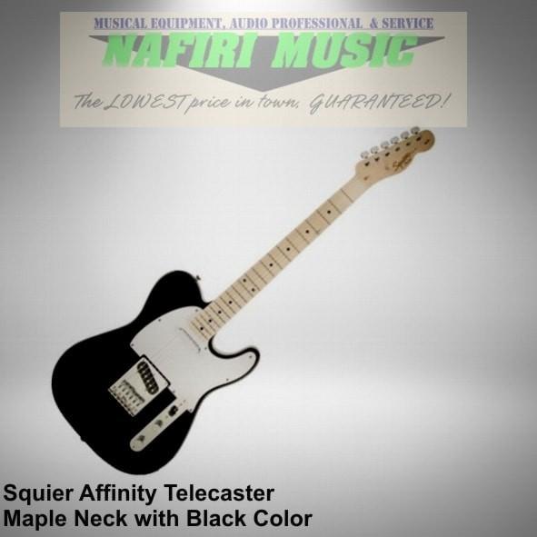 harga Gitar squier affinity telecaster maple neck black baru dan original Tokopedia.com