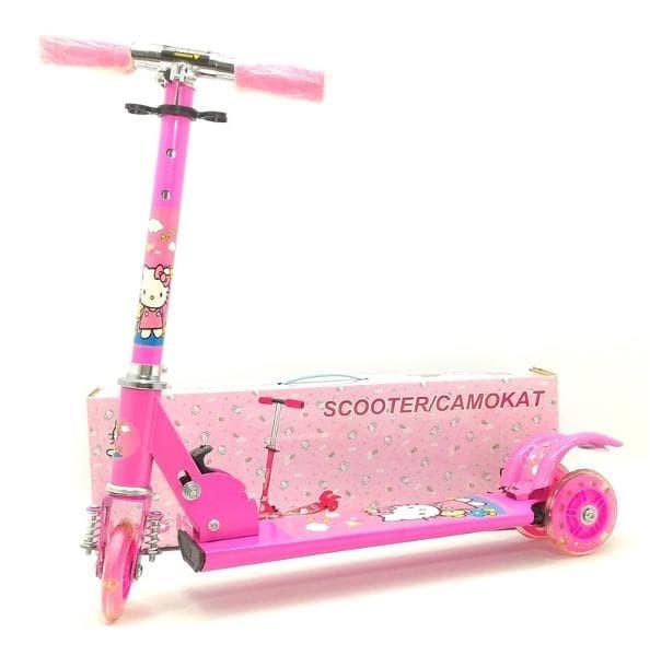 harga Promo    sekuter anak - otopet - scooter hello kitty Tokopedia.com