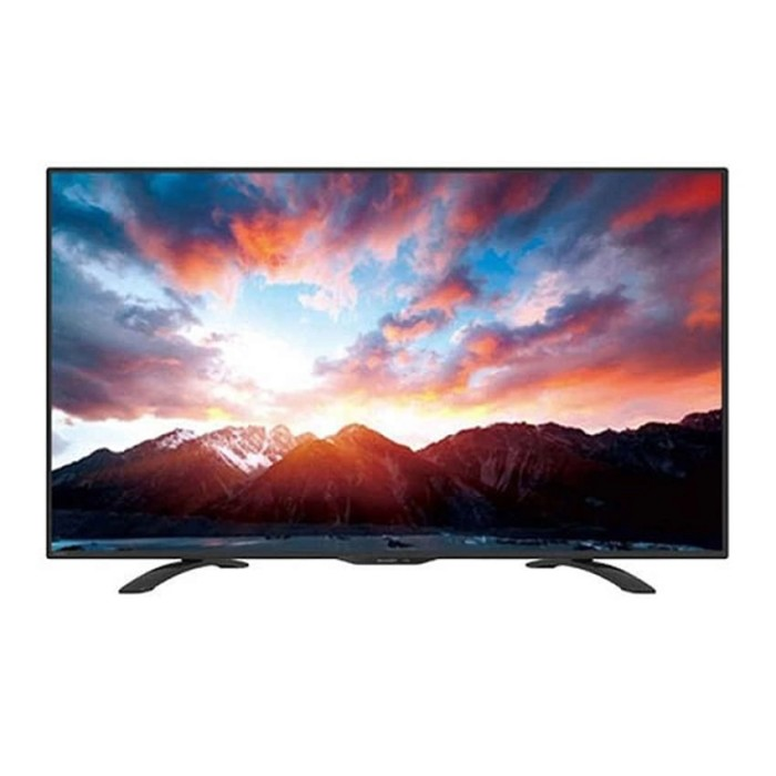 harga Televisi tv led 32 inch sharp 32le185 usb movie Tokopedia.com