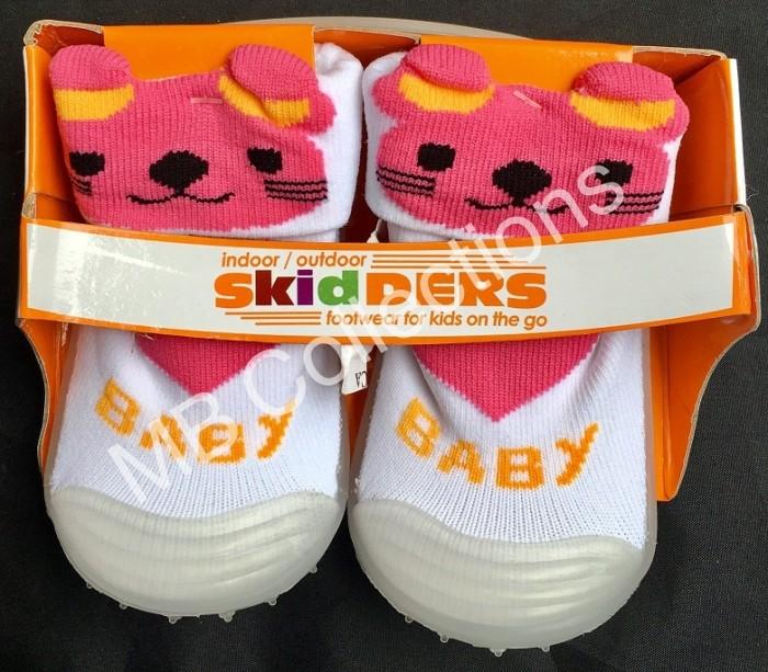 Skidder Sepatu Baby Motif 3D Tikus Putih Uk 21