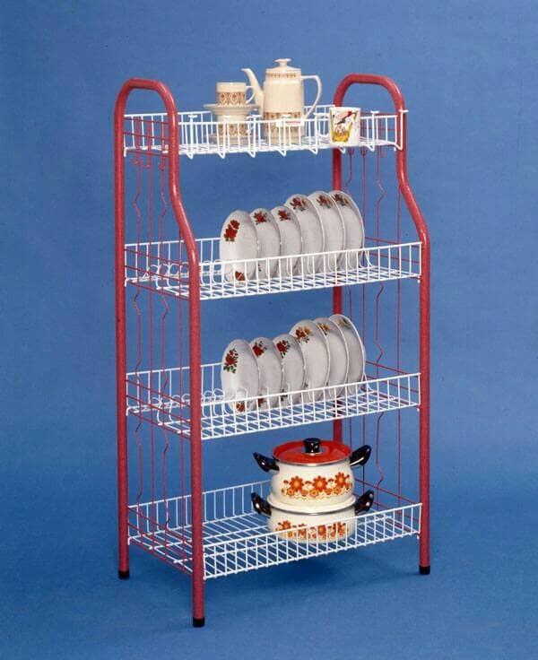 Rak Piring Gelas Dapur Besar Jumbo Master 4 Susun Murah Berkualitas