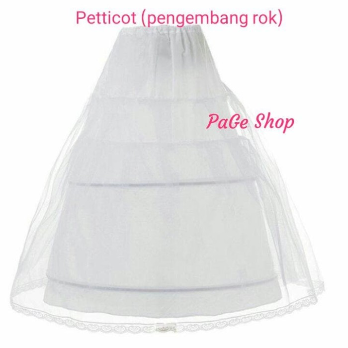 harga Petticoat anak / pengembang dress pesta Tokopedia.com