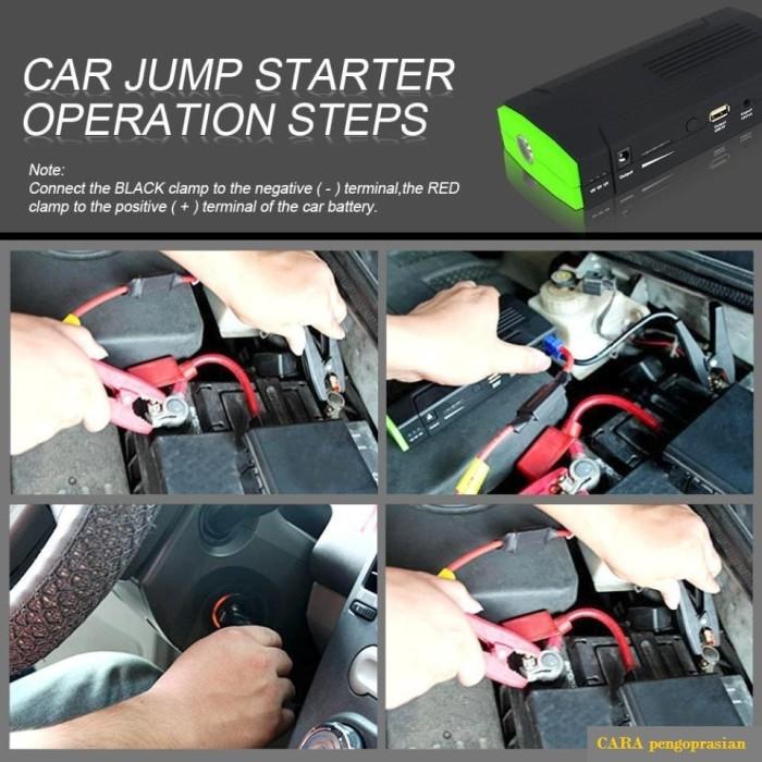 harga Multi function car jump starter a8 + power bank 13800mah (630231) Tokopedia.com