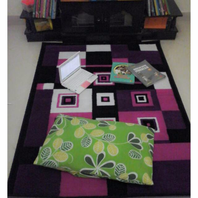 Jual Karpet PP Rugs Modern 09 Ukuran 115 x 155 cm Karpet Permadani Kar